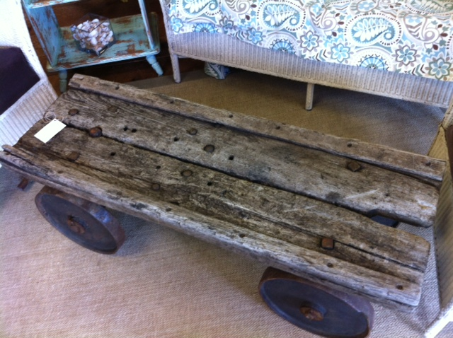 luggage cart | appletree cottage antiques & home