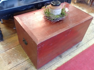 Great red trunk...item #3